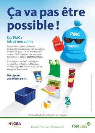 Aidez-nous à éliminer les intrus du sac PMC !