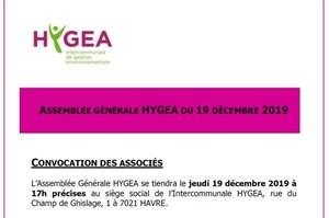 Assemblée générale d'HYGEA